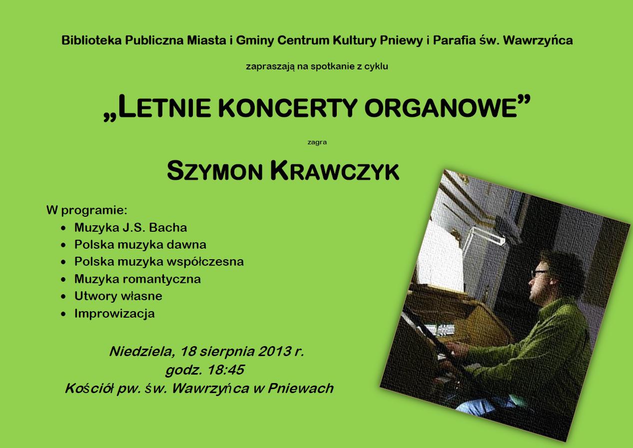 koncert organowy