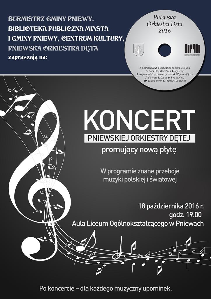 plakat orkiestra