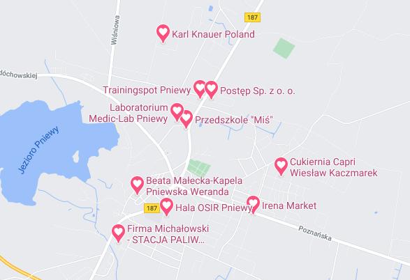 mapka WOŚP